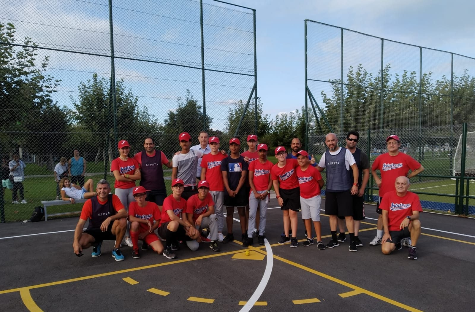 Participantes primer Clinic Béisbol 5