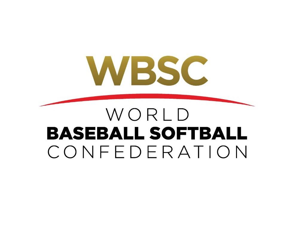 Logo Confederación Mundial de Béisbol y Sófbol
